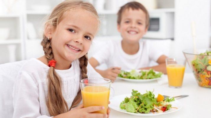 Питание детей (продолжение)