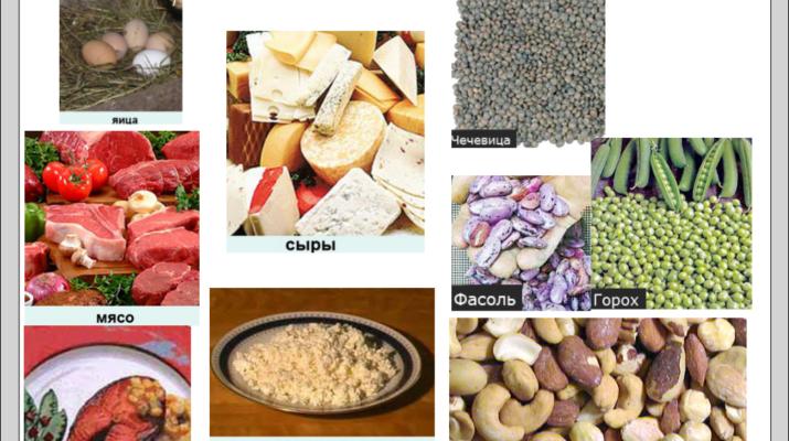 Питание для…. (№4) — белки