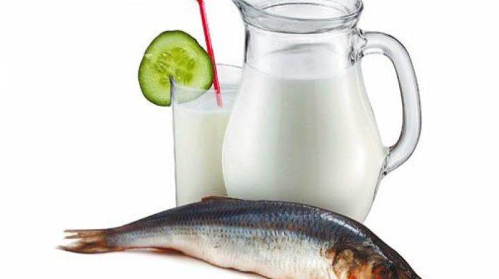 Роспотребнадзор назвал самыми опасными продуктами молоко и рыбу