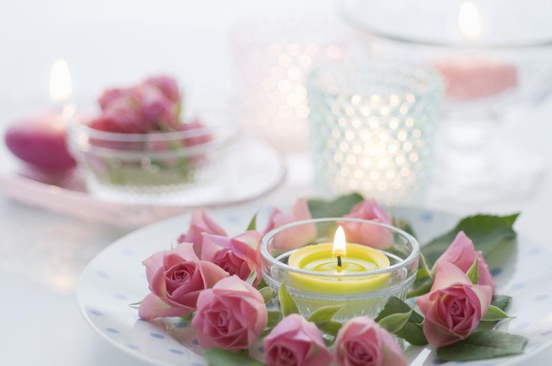 Романтический ужин для вегетарианцев на 8 марта