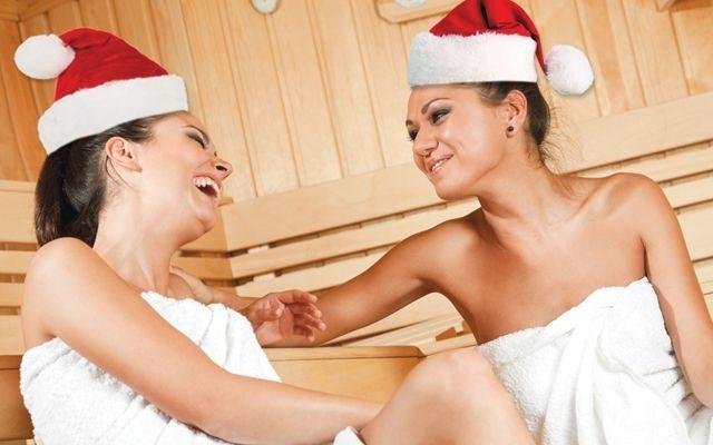 Можно ли встретить Новый Год в сауне?