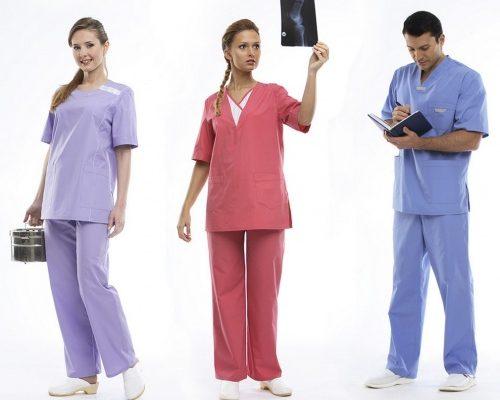 Спецодежда для медработников - виды и ассортимент в соответствии с нормами СанПИН