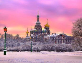 Зимние каникулы в Санкт-Петербурге