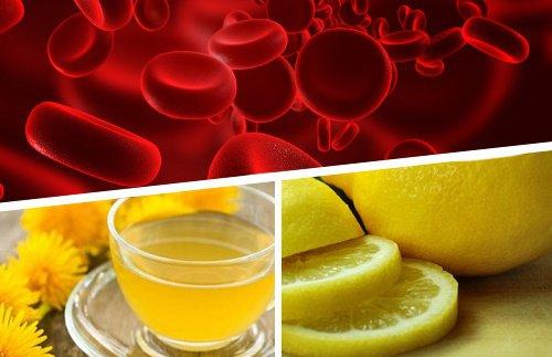 Продукты разжижают кровь