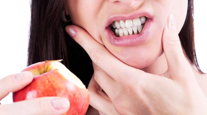 Чувствительные зубы.