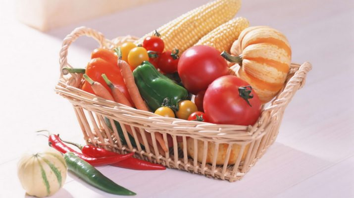 Выжимки про овощи