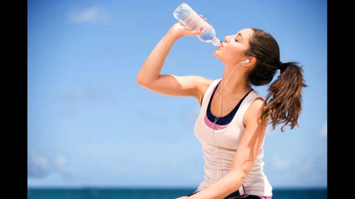 Начинаем пить воду