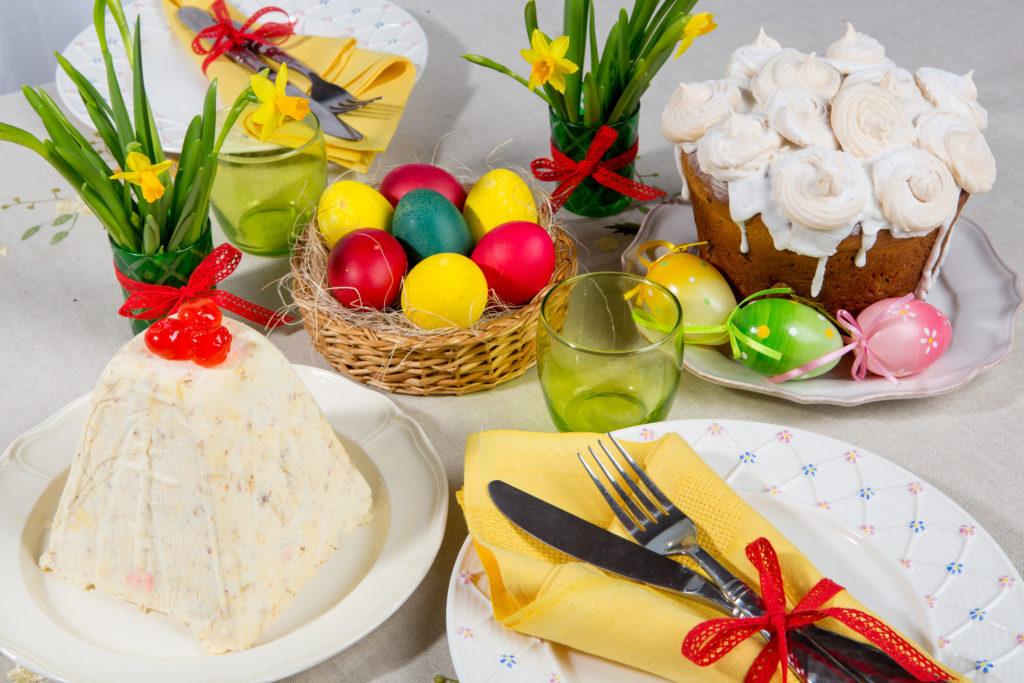 Пасха, готовим праздничный стол на радость себе и окружающим