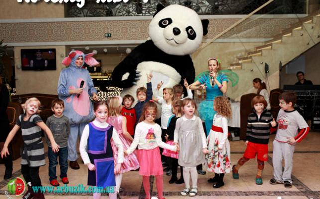Организация детских праздников в кафе, на природе и дома.